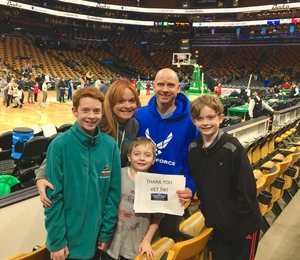 Brian attended Harlem Globetrotters on Dec 26th 2018 via VetTix