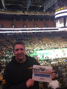 JERRY attended Harlem Globetrotters on Dec 26th 2018 via VetTix