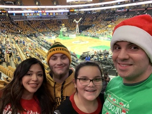 Darwin attended Harlem Globetrotters on Dec 26th 2018 via VetTix