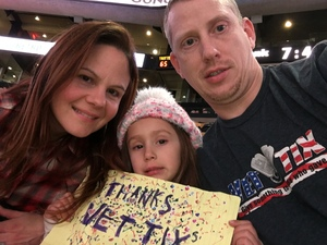 Chandler attended Harlem Globetrotters on Dec 26th 2018 via VetTix