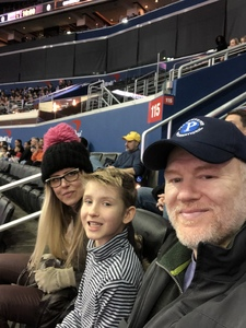 Garrett attended Harlem Globetrotters on Dec 26th 2018 via VetTix