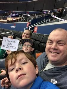 Brad attended Harlem Globetrotters on Dec 26th 2018 via VetTix
