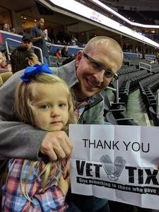William attended Harlem Globetrotters on Dec 26th 2018 via VetTix