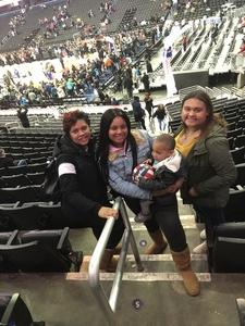 nathan attended Harlem Globetrotters on Dec 26th 2018 via VetTix