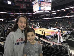 Maya attended Harlem Globetrotters on Dec 26th 2018 via VetTix