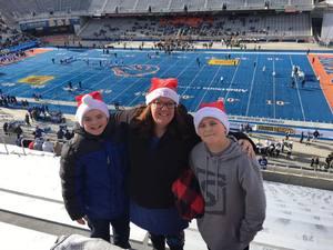 Emily attended Famous Idaho Bowl - BYU vs. Western Michigan - NCAA Football on Dec 21st 2018 via VetTix