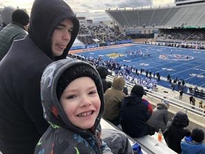 Robert attended Famous Idaho Bowl - BYU vs. Western Michigan - NCAA Football on Dec 21st 2018 via VetTix