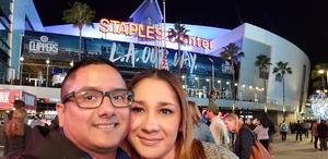 Jose attended LA Clippers vs. Sacramento Kings - NBA on Dec 26th 2018 via VetTix