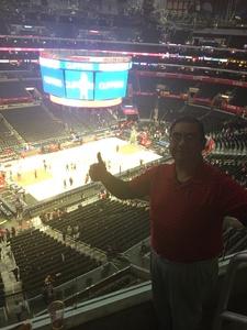 Rene A. Galvez attended LA Clippers vs. Sacramento Kings - NBA on Dec 26th 2018 via VetTix