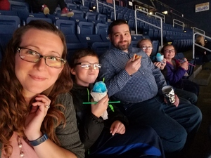 Ryan attended Harlem Globetrotters on Dec 29th 2018 via VetTix