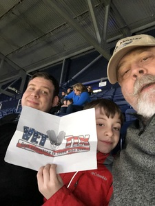 David attended Harlem Globetrotters on Dec 29th 2018 via VetTix