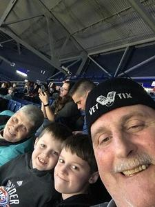 Anthony attended Harlem Globetrotters on Dec 29th 2018 via VetTix