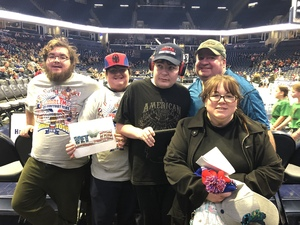 Mike attended Harlem Globetrotters on Dec 29th 2018 via VetTix