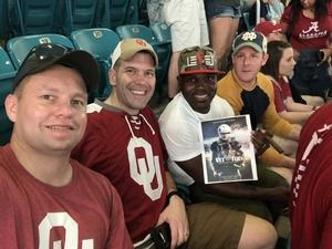 Click To Read More Feedback from 2018 Capital One Orange Bowl - Oklahoma Sooners vs. Alabama Crimson Tide - College Football Playoffs Semifinal Game