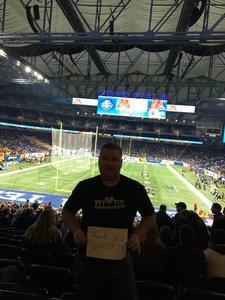 William attended Quick Lane Bowl: Minnesota vs. Georgia Tech - NCAA on Dec 26th 2018 via VetTix