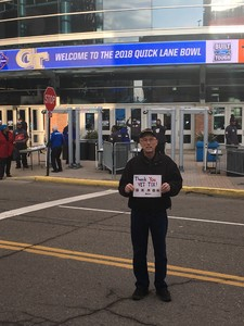 Robert attended Quick Lane Bowl: Minnesota vs. Georgia Tech - NCAA on Dec 26th 2018 via VetTix