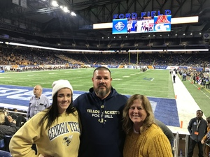 James Money attended Quick Lane Bowl: Minnesota vs. Georgia Tech - NCAA on Dec 26th 2018 via VetTix