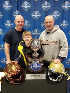 Jeffery attended Quick Lane Bowl: Minnesota vs. Georgia Tech - NCAA on Dec 26th 2018 via VetTix