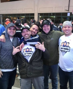 Allyn attended Quick Lane Bowl: Minnesota vs. Georgia Tech - NCAA on Dec 26th 2018 via VetTix
