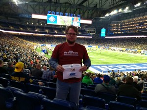 Hubert attended Quick Lane Bowl: Minnesota vs. Georgia Tech - NCAA on Dec 26th 2018 via VetTix