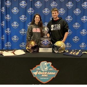 Russell attended Quick Lane Bowl: Minnesota vs. Georgia Tech - NCAA on Dec 26th 2018 via VetTix