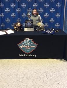 Robert attended Quick Lane Bowl: Minnesota vs. Georgia Tech - NCAA on Dec 26th 2018 via VetTix