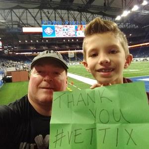 Paul attended Quick Lane Bowl: Minnesota vs. Georgia Tech - NCAA on Dec 26th 2018 via VetTix