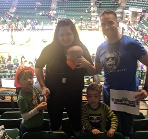 Andrew attended Harlem Globetrotters on Dec 31st 2018 via VetTix