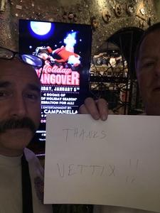 Art attended Holiday Hangover With the Dan Band - Pop on Jan 5th 2019 via VetTix