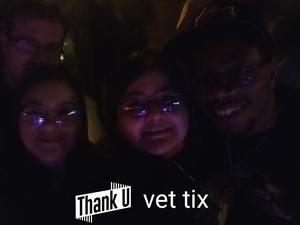 kimberly attended One Drop Redemption - Tribute to Bob Marley - a Birthday Celebration - Undefined on Feb 8th 2019 via VetTix
