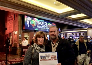 Jonathan Ward attended One Drop Redemption - Tribute to Bob Marley - a Birthday Celebration - Undefined on Feb 8th 2019 via VetTix