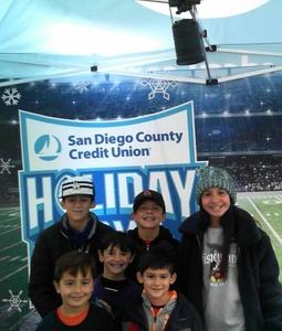 Christian attended 2018 Holiday Bowl - Northwestern vs. Utah - NCAA Football 12-31-2018 on Dec 31st 2018 via VetTix