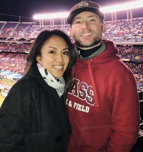 JC attended 2018 Holiday Bowl - Northwestern vs. Utah - NCAA Football 12-31-2018 on Dec 31st 2018 via VetTix