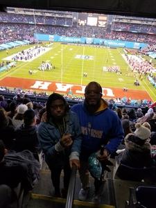Kevin attended 2018 Holiday Bowl - Northwestern vs. Utah - NCAA Football 12-31-2018 on Dec 31st 2018 via VetTix