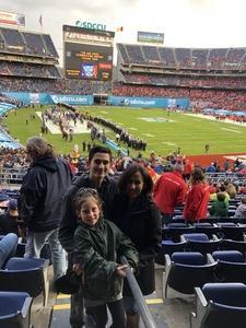 The Shaver Family attended 2018 Holiday Bowl - Northwestern vs. Utah - NCAA Football 12-31-2018 on Dec 31st 2018 via VetTix