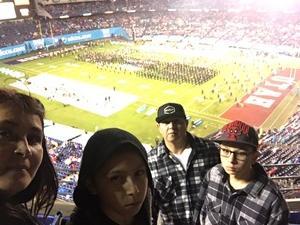 Jesse attended 2018 Holiday Bowl - Northwestern vs. Utah - NCAA Football 12-31-2018 on Dec 31st 2018 via VetTix