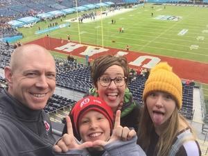 Cameron attended 2018 Holiday Bowl - Northwestern vs. Utah - NCAA Football 12-31-2018 on Dec 31st 2018 via VetTix