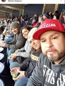 Pedro attended 2018 Holiday Bowl - Northwestern vs. Utah - NCAA Football 12-31-2018 on Dec 31st 2018 via VetTix