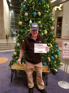 Patrick attended A Christmas Carol on Dec 20th 2018 via VetTix