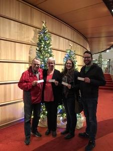 Shelley attended A Christmas Carol on Dec 20th 2018 via VetTix