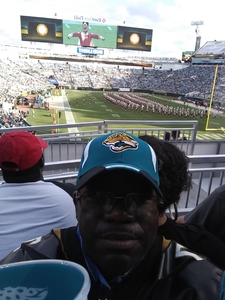 Christopher attended 2018 Taxslayer Gator Bowl on Dec 31st 2018 via VetTix