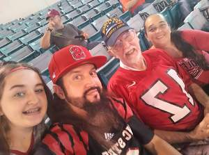 Toni attended 2018 Taxslayer Gator Bowl on Dec 31st 2018 via VetTix