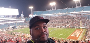Leondris attended 2018 Taxslayer Gator Bowl on Dec 31st 2018 via VetTix