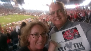 John attended 2018 Taxslayer Gator Bowl on Dec 31st 2018 via VetTix