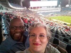 Anthony attended 2018 Taxslayer Gator Bowl on Dec 31st 2018 via VetTix