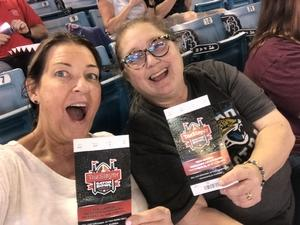 Patty attended 2018 Taxslayer Gator Bowl on Dec 31st 2018 via VetTix