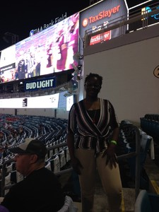 Debbie attended 2018 Taxslayer Gator Bowl on Dec 31st 2018 via VetTix