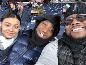 rafael attended 2018 Pinstripe Bowl on Dec 27th 2018 via VetTix