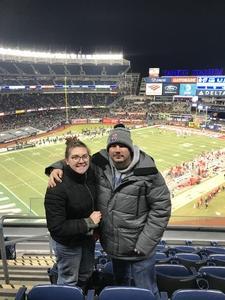 Robert attended 2018 Pinstripe Bowl on Dec 27th 2018 via VetTix