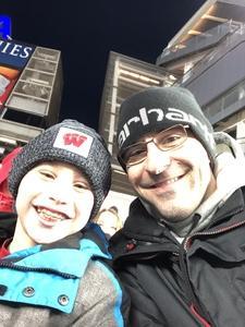 John attended 2018 Pinstripe Bowl on Dec 27th 2018 via VetTix
